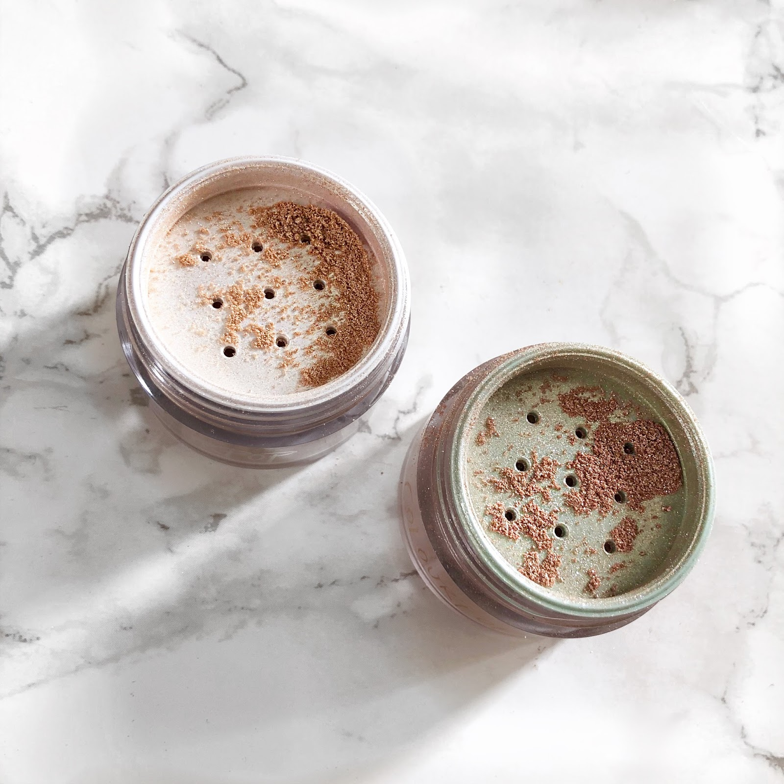 62d162fcddc Colourpop Luster Dust Loose Highlighter in Strobe Globe and Gnomie $7
