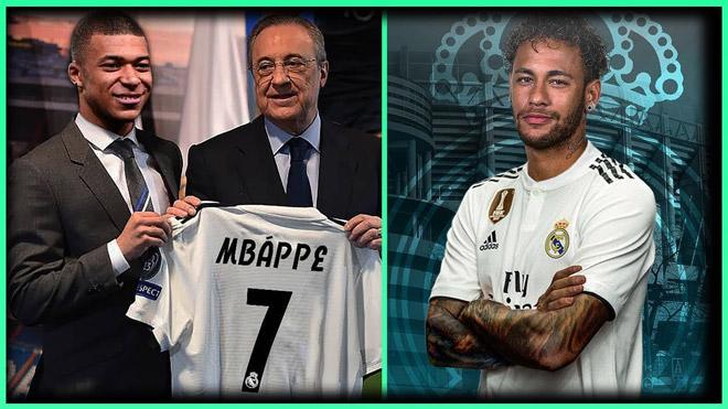 "Top bom tấn La Liga sắp ""nổ"": Bỏ Mbappe - Neymar, Real chọn SAO nào thay thế?"