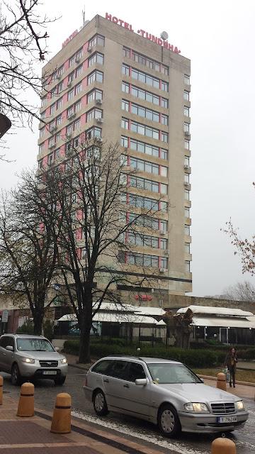 Hotel Tundzha, Yambol City Park, Yambol, Entrance,