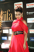 Apoorva in a Stunning Tight Leg Split Sleeveless Red Gown at IIFA Utsavam Awards 57.JPG