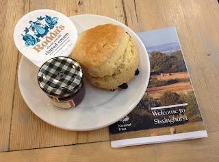 Sissinghurst scone