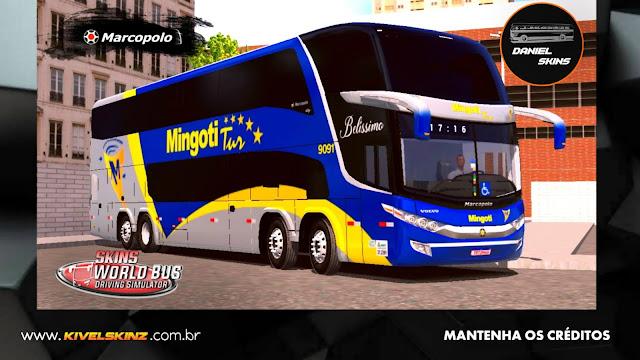 PARADISO G7 1800 DD 8X2 - VIAÇÃO MINGOTI TUR