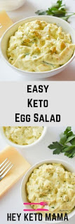 Easy Keto Egg Salad Recipe