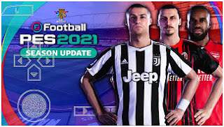 Download PES 2021 PPSSPP V4.4 Full Transfer And New Font Radar Name & Face Best Graphics Realistic
