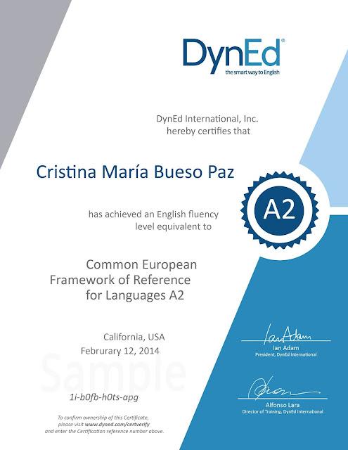 contoh sertifikat CEFR