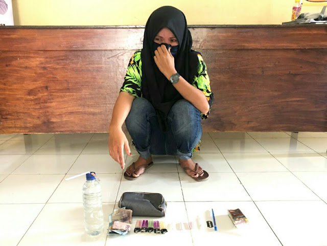 Jualan sabu, wanita asal Dompu ditangkap Polisi
