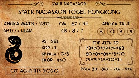 Nagasaon HK Jumat 07 Agustus 2020