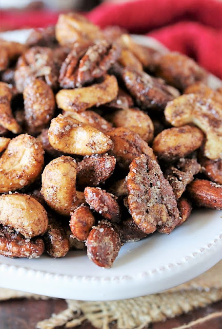 Roasted Mixed Nuts with Chai Spice Image