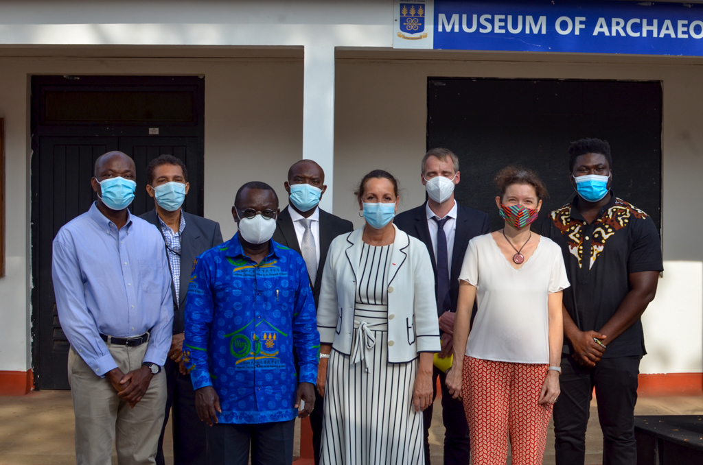 French Embassy commissions University of Ghana's the Archaeology, Ceramics and Photogrammetry Lab