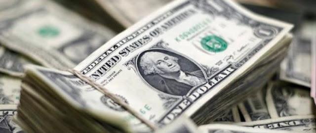 Precio dólar baja