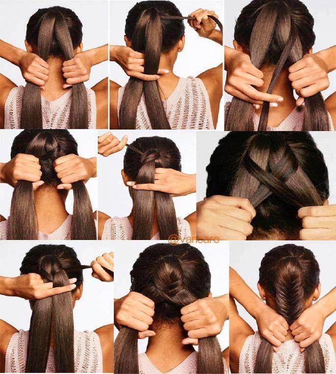 Famoso Look Like A Model: Tutorial hairstyle: come fare acconciature con  SI01