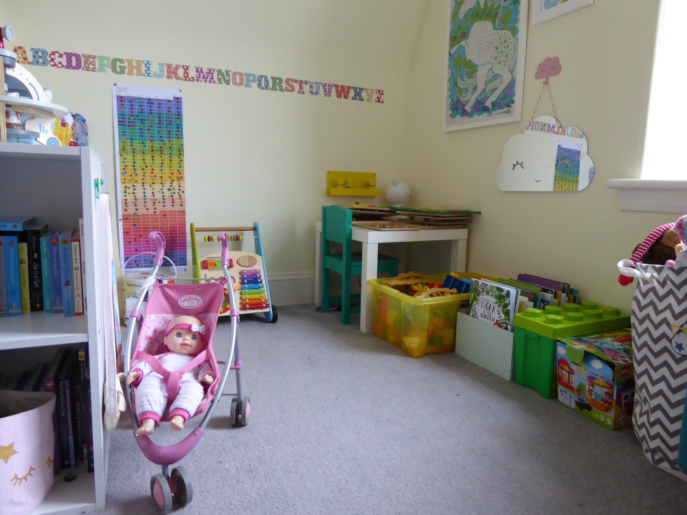 Overview of Matilda's room