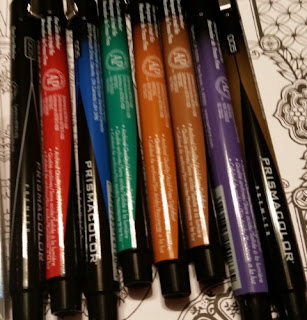 Prismacolor Premier­ Fine Tip Illustration Markers set