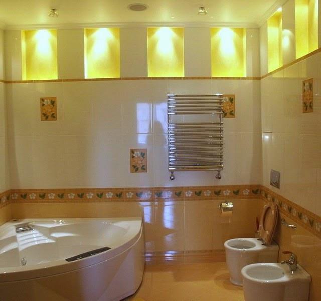 25 cool bathroom lighting ideas and ceiling lights Cool bathroom lighting ideas