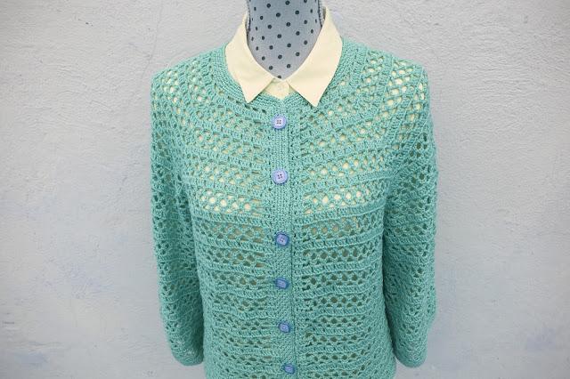 4 - Crochet Imagenes Chaqueta primavera a crochet y ganchillo por Majovel Crochet