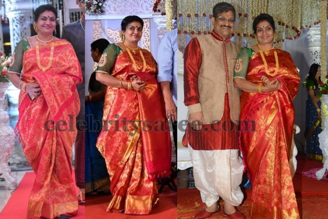 Delhi Rajeshwari at her Son Wedding