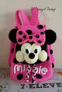 Crochet minni mouseHandbags