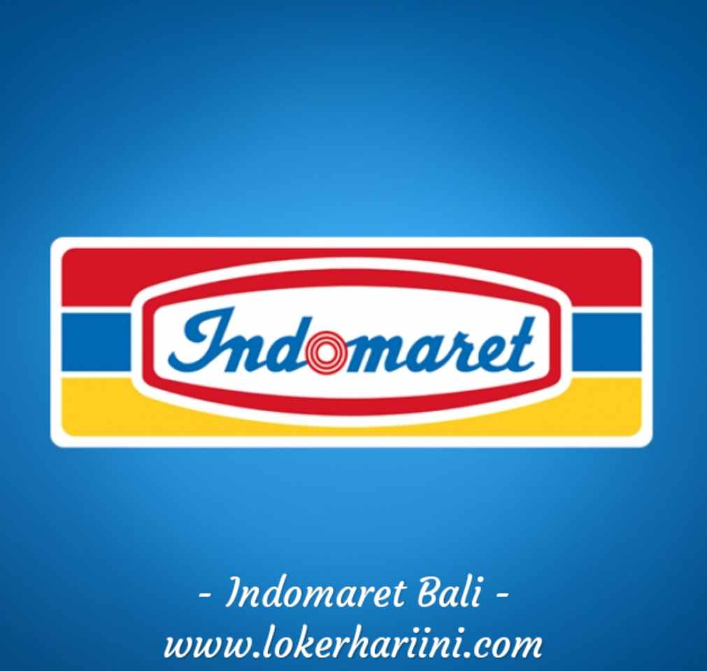 Lowongan Store Crew Kasir Pramuniaga Indomaret Bali 2021