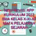 RPP KURIKULUM 2013 SMA KELAS X- XI -  XII SEJARAH SMA LENGKAP REVISI TERBARU