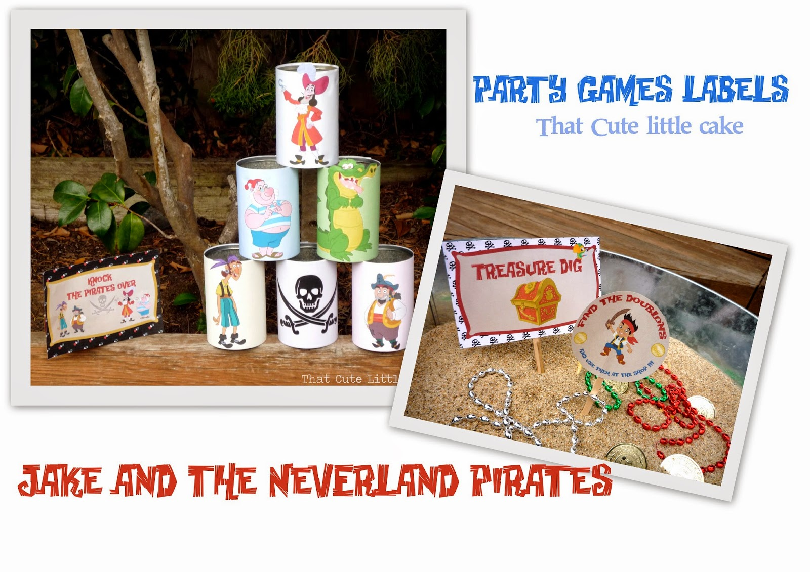 That Cute Little Cake: {Jake Neverland Pirates} Free Printables ...