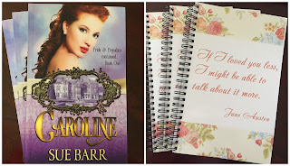 Blog Tour Prizes for Caroline, Pride & Prejudice Continued, Book One by Sue Barr