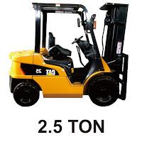 Rental Forklift 2,5 Ton