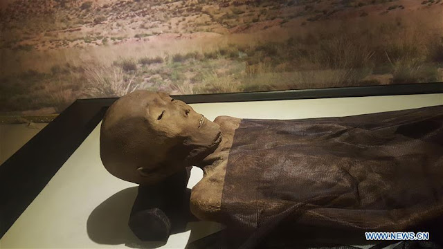 China unearths millennia old Silk Road mummy