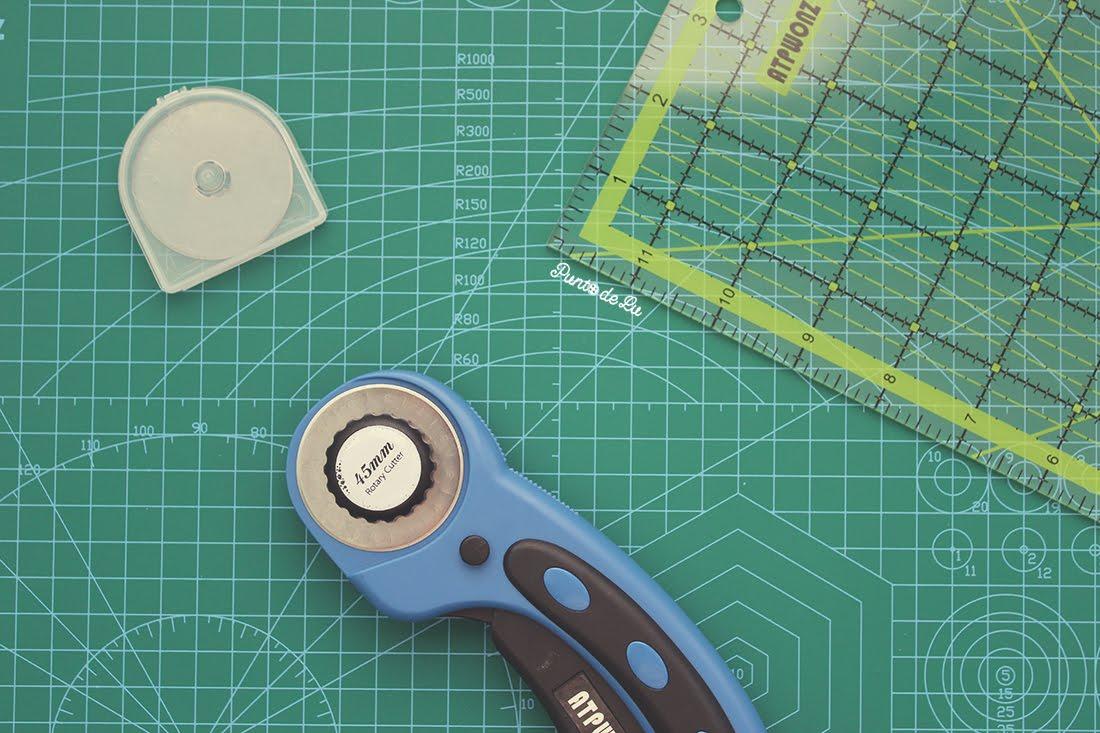 Materiales de costura Punto de Lu