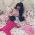 Ghanaian Actress, Nadia Buari shares lovely photo with her twin daughters