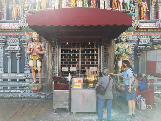 Hindu Temple at Waterloo Street