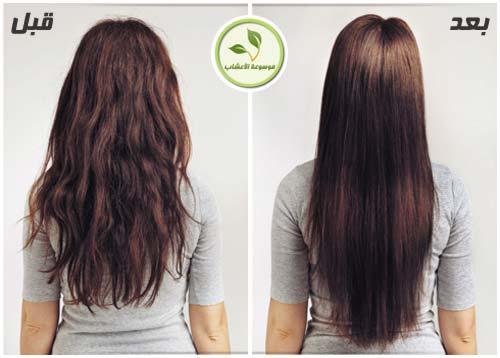 وصفات طبيعية لفرد الشعر - تنعيم - فرد الشعر