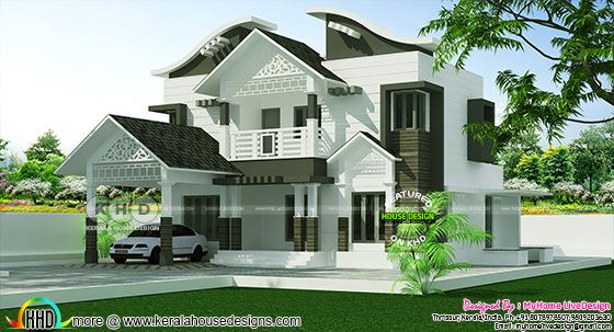 2146 square feet mixed roof home