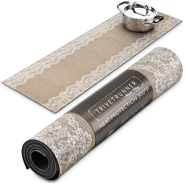 Decorative kitchen table runner