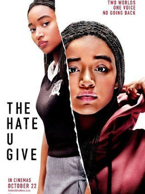 Poster Of Free Download The Hate U Give 2018 300MB Full Movie Hindi Dubbed 720P Bluray HD HEVC Small Size Pc Movie Only At worldfree4u.com