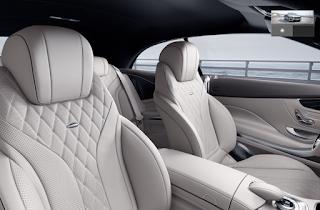 Nội thất Mercedes S500 Cabriolet 2016 màu Vàng Porcelain 965