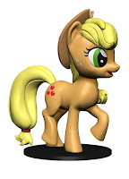My Little Pony WizKids Deep Cut Miniature Applejack