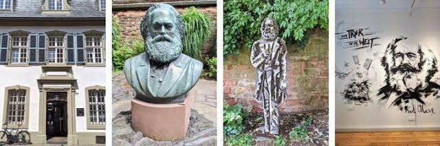 Day trips from Luxembourg City: Karl Marx birth house in Trier Germany