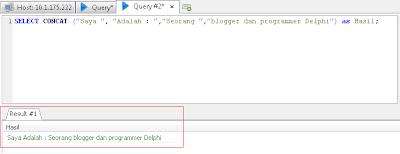 Cara Menggabungkan Teks di SQL
