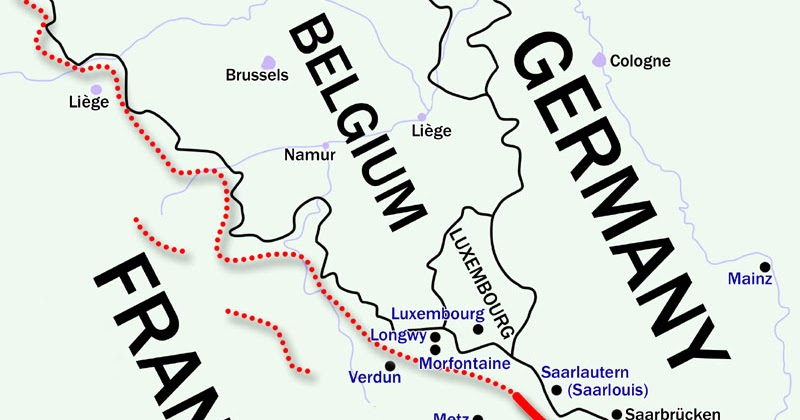 Crisis And Achievement Maginot Line