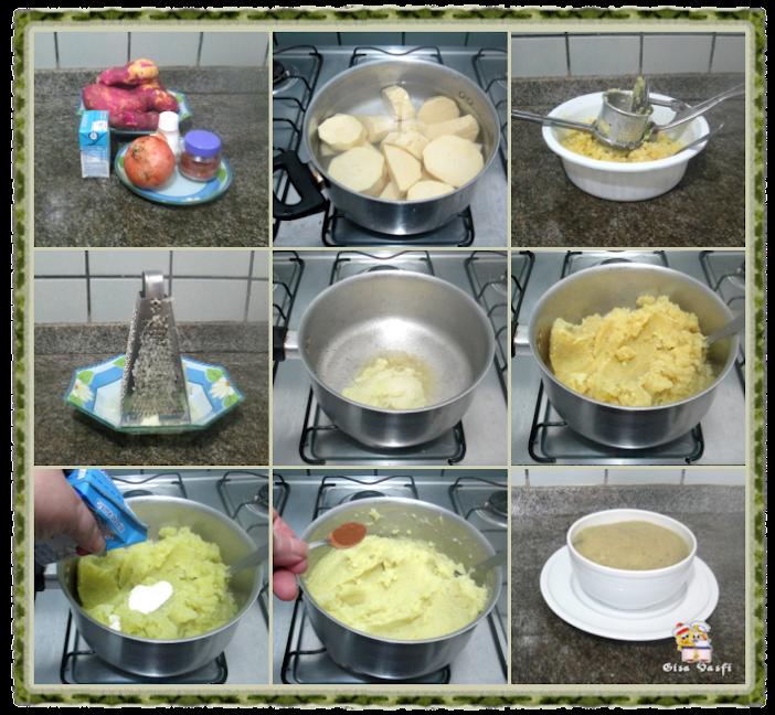 Purê de batata doce 3