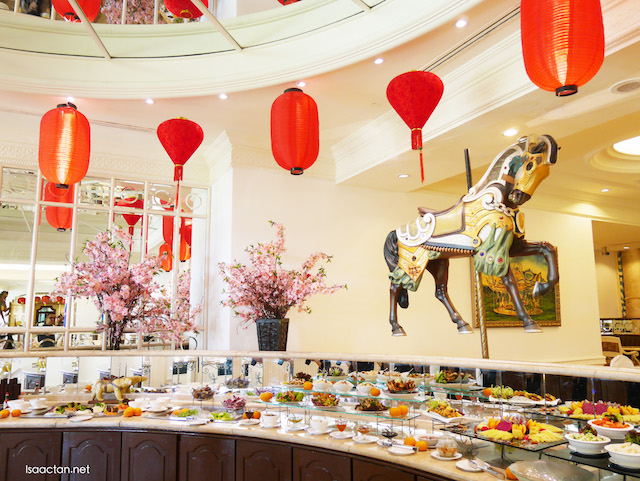 Chinese New Year Prosperity Buffet @ Palace Of The Golden Horses