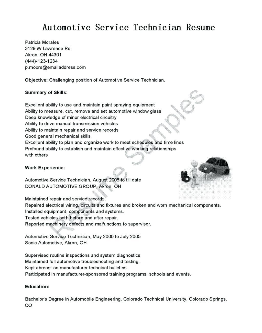 Auto Mechanic Resume Sample 2019 Auto Mechanic CV 2020 automotive mechanic resume sample automobile mechanic resume sample auto mechanic cv sample auto technician resume sample vehicle mechanic resume sample automotive mechanic cv sample