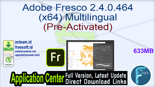 Adobe Fresco 2.4.0.464 (x64) Multilingual (Pre-Activated)