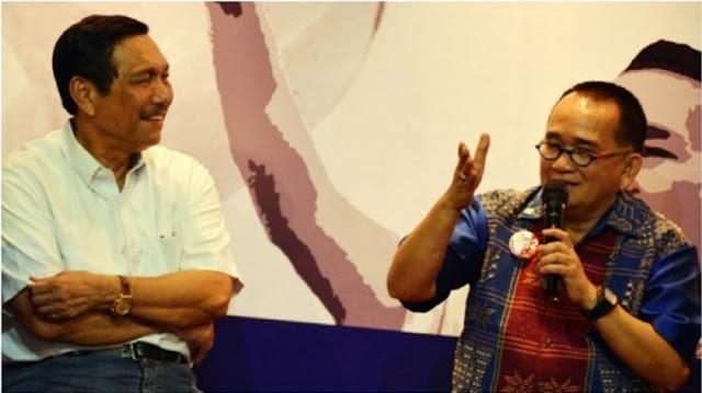Luhut Dekat dengan Presiden Jokowi, Ruhut: Dia Bekerja dengan Hati, karena Itu Aku Bela