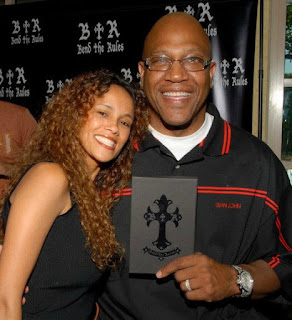 Felicia Forbes with her late husband Tommy Lister