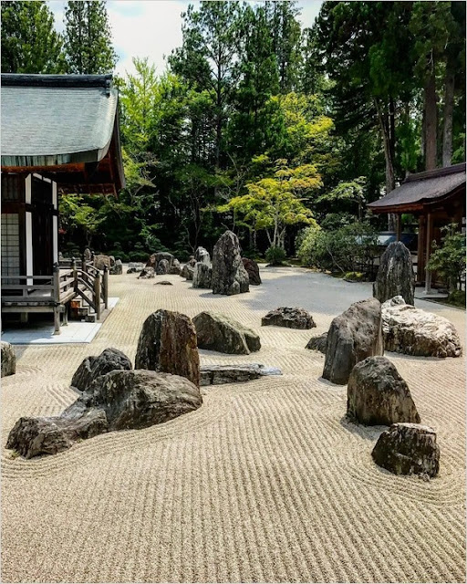 japanese zen rock garden design ideas