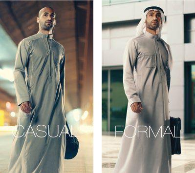 baju muslim gamis casual dan formal pria dari arab