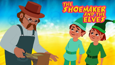 The Shoemaker and the Elves Story with pictures & PDF