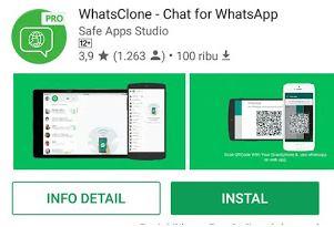Cara Sadap Percakapan/Chat Whatsapp Menggunakan Whatsclone