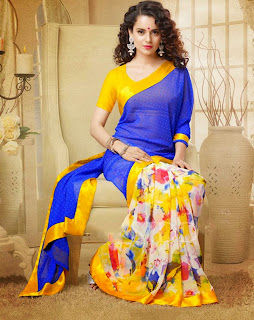 Kangna Ranaut hot saree photo shoot